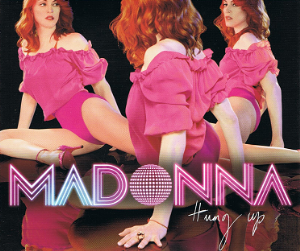 MADONNA Hung Up CD Single Warner Bros. 2005